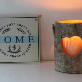 Home and candle-IMG_6836
