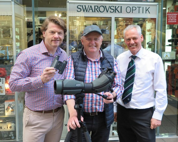 Irish launch of Swarovski BTX Eyepiece